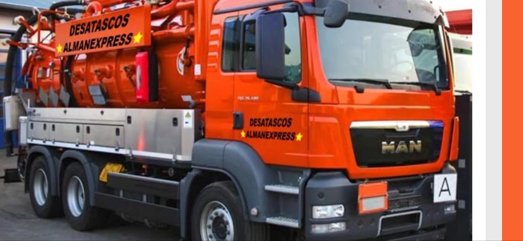 camion de  desatascos Cartagena