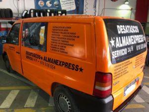 furgoneta desatascos Murcia